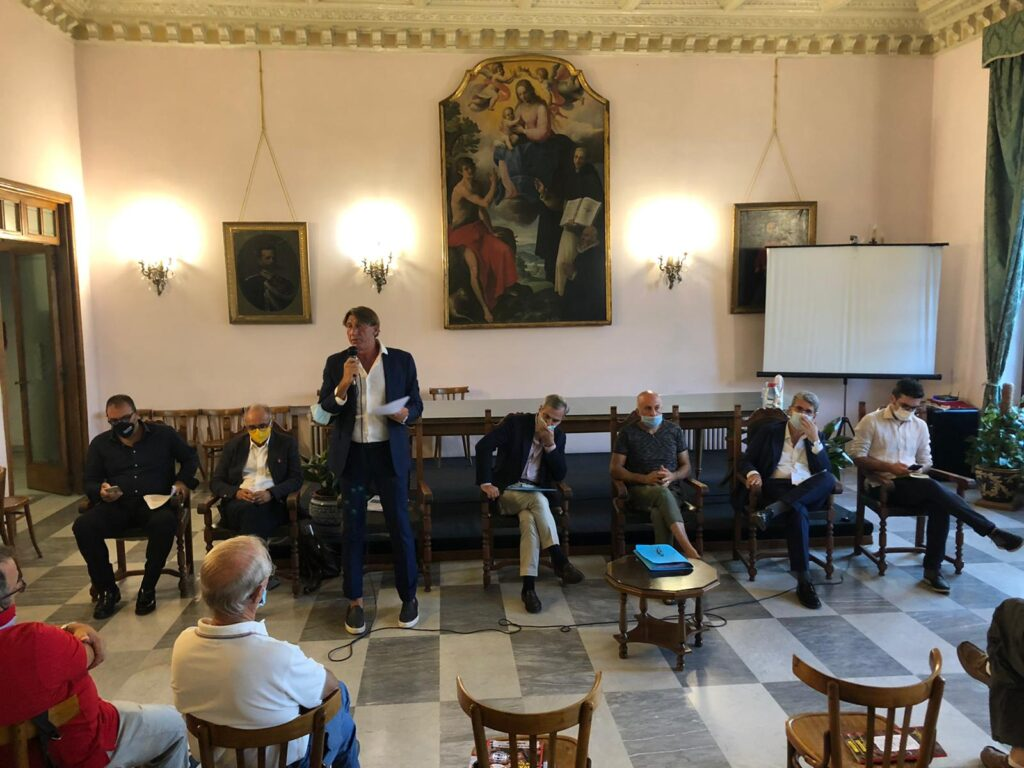 Il candidato Umberto Ferrigno